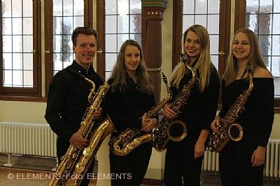 Herbolzheimer Musiktage: Saxophonquartett ELEMENTS & Voices