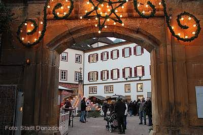 Donzdorfer Schloss-Weihnacht am 05.12.2020 bis 06.12.2020