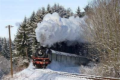 Schwäbische Waldbahn - Weihnachtsmarkt-Express Rudersberg