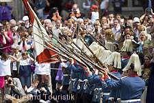 1. Historische Schwedenprozession durch die Altstadt Überlingen