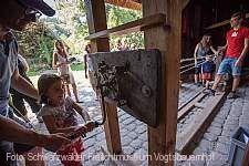 Sommerferienprogramm im Freilichtmuseum Gutach (Schwarzwaldbahn)