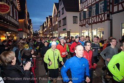 39. Silvesterlauf zur Burg Teck Kirchheim unter Teck
