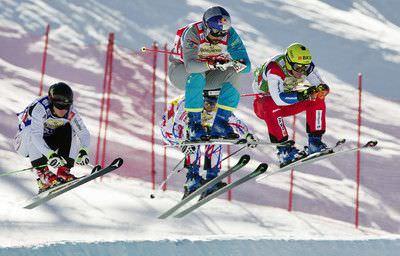 Audi FIS Ski Cross Weltcup Feldberg im Schwarzwald