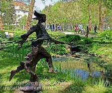 """Skulpturenausstellung """"Bronzekunst zu Gast im Kurpark"""" Bad Mergentheim"""