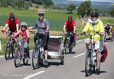 slowUp Schaffhausen-Hegau Büsingen am Hochrhein am 13.05.2018