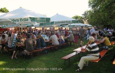Sommerfest des Musikvereins Stuttgart-Hofen