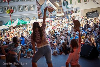 Stadtfest mit Fest der Kulturen Lahr / Schwarzwald