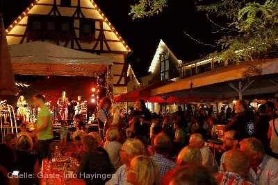 Stadtfest mit Kreativmarkt Hayingen