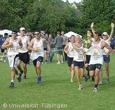 100-km-Staffellauf um den Pokal der Universität Tübingen