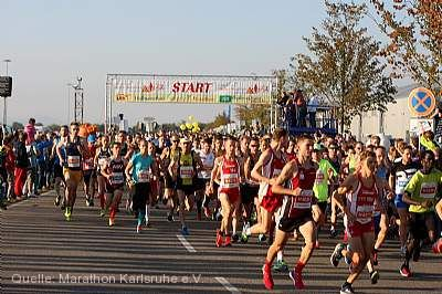 36. Fiducia & GAD Baden Marathon Karlsruhe
