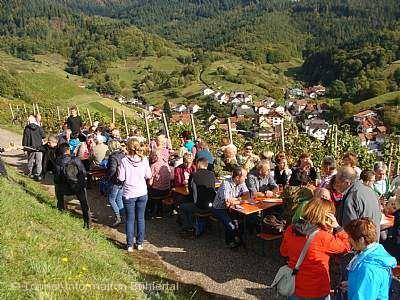 Kulinarischer Weinwandertag Bühlertal am 03.10.2018
