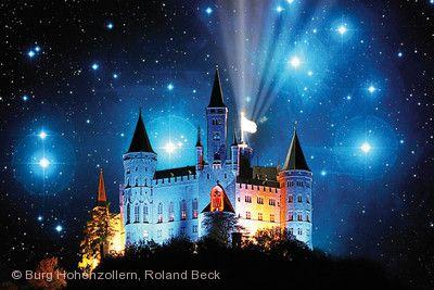 Sternschnuppennächte Burg Hohenzollern