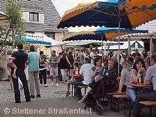 Stettener Straßenfest Kernen im Remstal