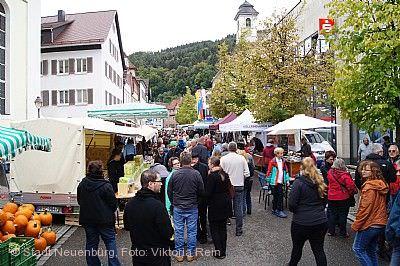 Stoppelmarkt Neuenbürg