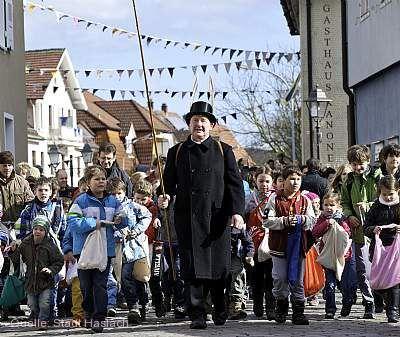 Traditioneller Storchentag Haslach im Kinzigtal