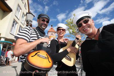 Straßenmusiksonntag Bräunlingen