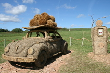 Strohskulpturen-Wettbewerb Höchenschwand