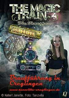 """Tanzshow """"The Magic Train"""" Creglingen"""