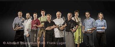 Bärlauch-Woche der Traufgänge-Gastgeber in Albstadt