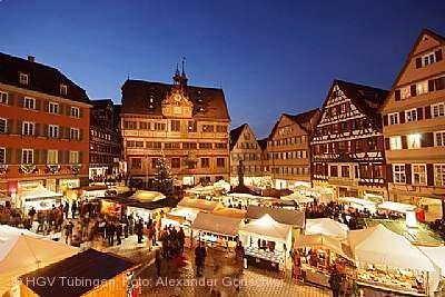 Tübinger Weihnachtsmarkt Tübingen