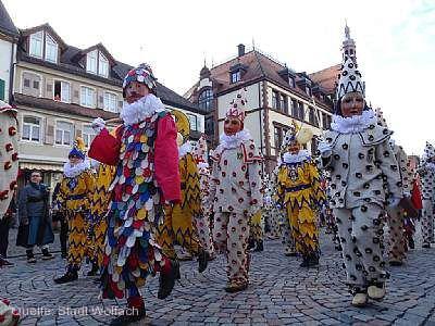 Närrischer Festzug mit Festspiel Wolfach