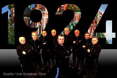 """KulturMomente: Ural Kosaken Chor - """"Eine musikalische Reise"""" Bad Urach am 20.08.2021"""