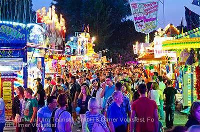 Ulmer Volksfest Ulm/Neu-Ulm