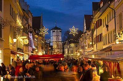 Wangener Weihnachtsmarkt und Kunsthandwerkmarkt Wangen im Allgäu
