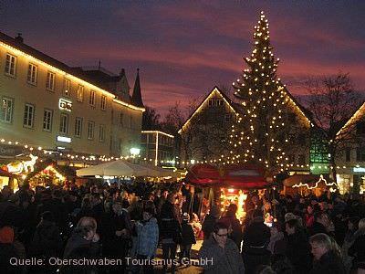 Weihnachtsdorf Bad Saulgau