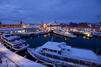 Weihnachtsmarkt am See Konstanz
