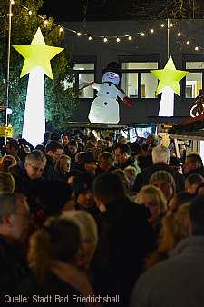 Märchenhafter Weihnachtsmarkt Bad Friedrichshall