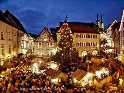 Altdeutscher Weihnachtsmarkt Bad Wimpfen am 13.12.2019 bis 15.12.2019