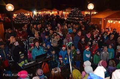 Weihnachtsmarkt rund um das Schloss Bonndorf im Schwarzwald