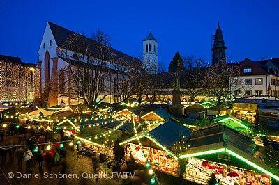 Weihnachtsmarkt Freiburg Freiburg im Breisgau