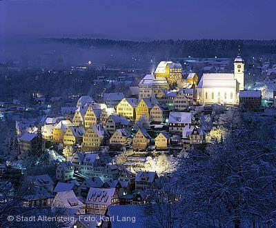Weihnachtsmarkt Altensteig am 27.11.2020 bis 29.11.2020