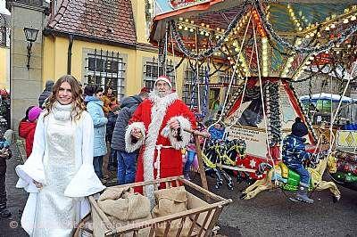 Weihnachtsmarkt Kirchberg an der Jagst