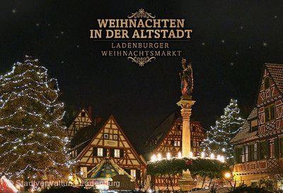 Weihnachtsmarkt Ladenburg