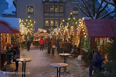 Weihnachtsmarkt Leutkirch im Allgäu