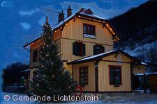 Weihnachtsmarkt Lichtenstein