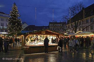 Weihnachtsmarkt Lörrach
