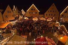 Großer Weihnachtsmarkt Munderkingen