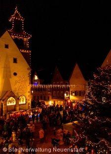 Weihnachtsmarkt Neuenstadt am Kocher