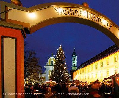 Weihnachtsmarkt im Klosterhof Ochsenhausen