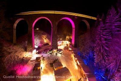 11. Weihnachtsmarkt Ravennaschlucht Breitnau