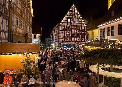 """Weihnachtsmarkt """"Möckmühler Lichterglanz"""""""