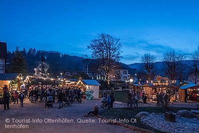 Weihnachtsmarkt Ottenhöfen im Schwarzwald