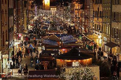 Traditioneller Weihnachtsmarkt Waldshut-Tiengen am 01.12.2018 bis 23.12.2018