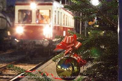 Weihnachtsstraße & Weihnachtszug Kandern