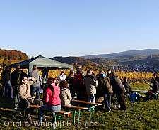 Wein- und Grillfest in den Weinbergen von Keltern Straubenhardt