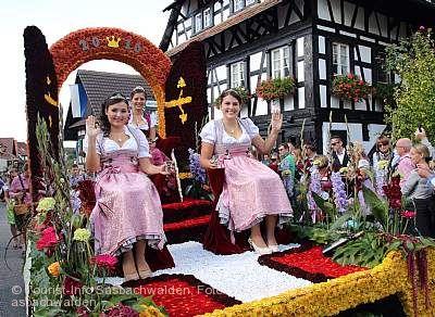Erntedank- und Weinfest Sasbachwalden